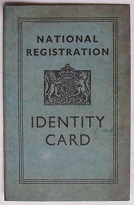 "Reproduction:""10x WW2 IDENTITY CARDS""(1945, Ideal for Schools, 1940s Dances etc)"