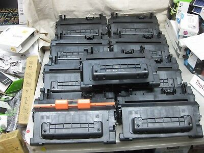 HP EMPTY Virgin Toner Cartridges CC364A Genuine OEM 64A Packed Well * Lot of 9