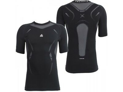 adidas Techfit Base layer Training Short Sleeve Top Compression Tee XL Mens NEW