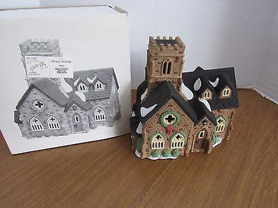 Dept 56 Dickens Village Knottinghill Church Great For Your Village Display Look!