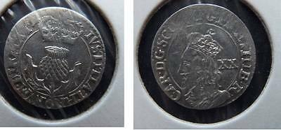 Charles I 20 Pence (S.5581) Scottish hammered coin (0003)