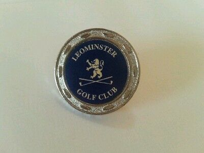 Leominster Golf Club Ball Marker