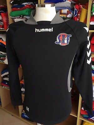 TOP Shirt Svelvik IF (S) Hummel Norwegen Norway Sweatshirt Training Trikot