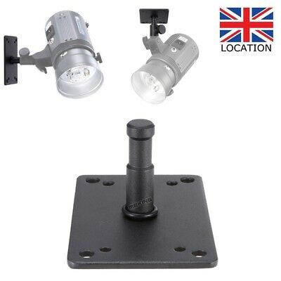 6cm Metal Studio Lighting Wall Ceiling Baby Plate Mini Overhead Light Stand UK