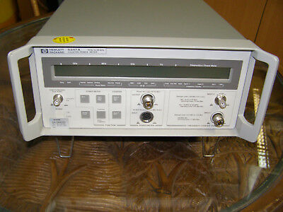 HP 5347 A COUNTER / Power METER   10 Hz to 20 GHz    Opt.06