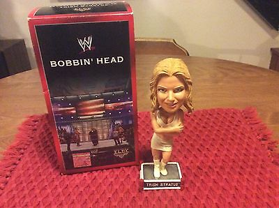 Very Rare 2004 WWE Wrestling Trish Stratus Bobblehead! WRESTLEMANIA XX!!!