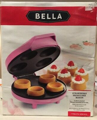 Bella Strawberry Shortcake Maker BRAND NEW Cake Maker