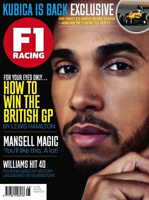 F1 Racing magazine August 2017 Lewis Hamilton #258