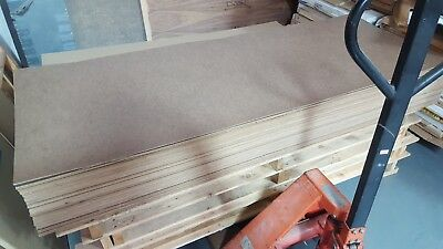 Standard Hardboard Sheets - 78 x 30 Inches 3.2mm Thick