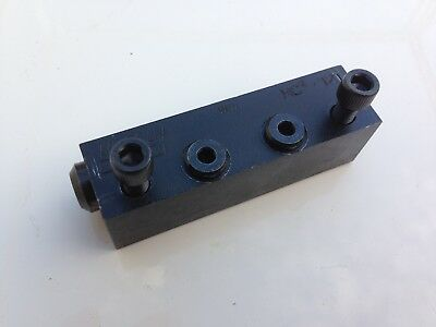 Lincoln MC-12T Lubrication Oil/Grease Divider Valve Manifold Distributor Block