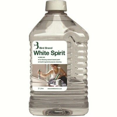 White Spirit Used Paint Linseed Oil, Thinning and Brush Cleaning Purpose 2 Ltr