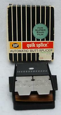 Vintage Hpi Quik Splice 8Mm Film Splicer W/box