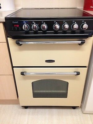 Belling Classic 60e Double Electric Cooker Cream 163 419