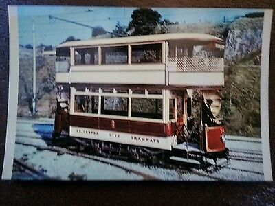 Tram Collectors Reproductions Postcard