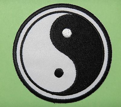 iron-on Patch escutcheon embroidered yin yang, Meditation
