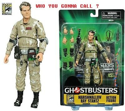 "Ray Stantz Ghostbusters MARSHMALLOW Diamond Select 7"" Action Figure Figura SDCC"