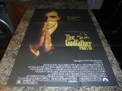 The Godfather Part 3 New Poster