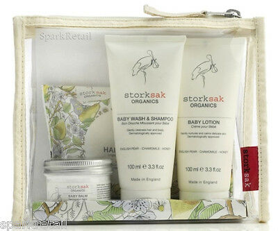 Storksak Organics LITTLE TRAVELLER BABY Bath & Body Collection For Babies