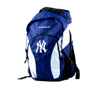 New York Yankees Backpack, Navy Blue & White