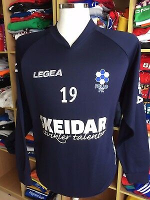 Issue SWEATSHIRT TOP Shirt Follo FK (L)#19 Legea Norwegen Shirt Norway Trikot