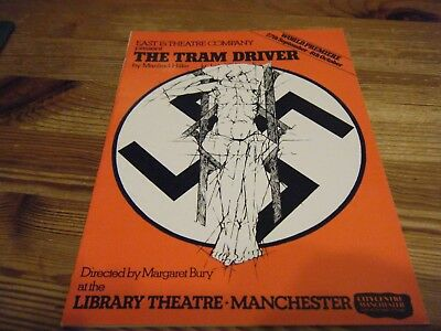 1983  - Theatre  Programme  - The  Tram Driver -  Library Theatre Manchester Vgc