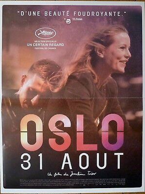 Oslo August 31St - Drug Addict / Norway - Original Small French Movie Poster