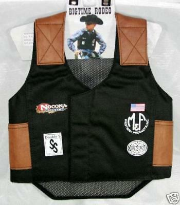 Kid's ~RODEO VEST/CHAPS SET~ Bullriding Mutton Buster - Cowboy Halloween Costume