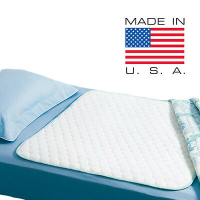 """Large Size 34"""" x 52"""" Reusable Washable Mattress Protector Underpad Heavy Duty"""