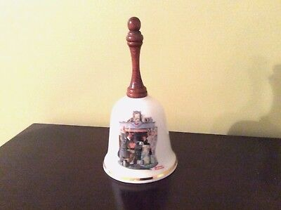 Bell - Porcelain Norman Rockwell 12 Bell Series - 1983 Tea For Two