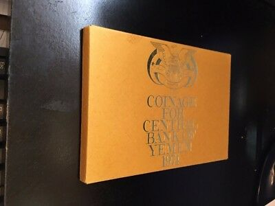 1974 Central Bank of Yemen Proof Coin Set