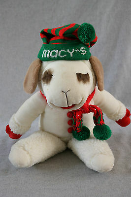 LAMB CHOP at Macy's Plush Toy 22in Large Stuffed XMAS Holiday Decor Shari Lewis
