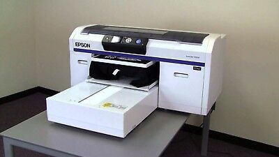 Epson SureColor SC-F2000 Direct To Garment Printer - MAY NEED NEW PRINT HEAD