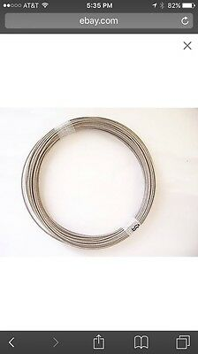 316 Stainless Steel Wire Rope Cable, 3/16, 7x19, 100 ft