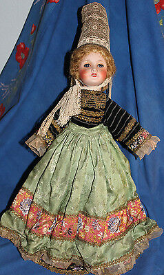 """Vintage Brittany French Doll 19"""", bisque head"""