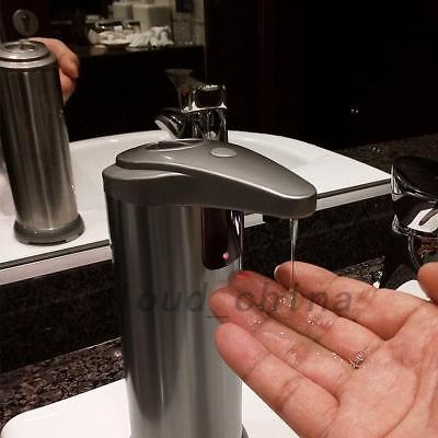 Automatic Soap Dispenser Stainless Steel Touchless Soap Liquid Bathroom Kitchen