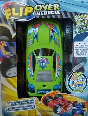 Flip Over Vehicle Toy Battery Operated