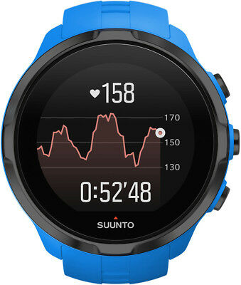 Blue Suunto Spartan Multisport GPS Watch With Heart Rate Monitor