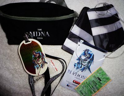 Madonna PROMO VIP Gift Package MDNA 2012 Tour Brazil