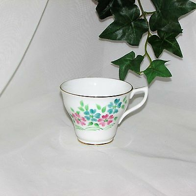 VINTAGE ROSINA BONE CHINA HAND PAINTED TEACUP CUP ONLY no saucer ENGLAND spare