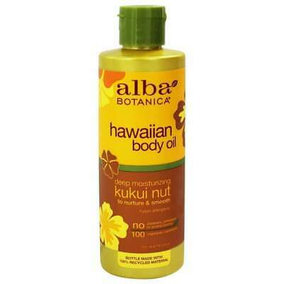 ALBA Hawaiian Organic Body Oil Kukui Nut 250ml