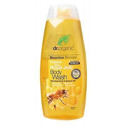 DR ORGANIC Body Wash Royal Jelly Organic 250ml