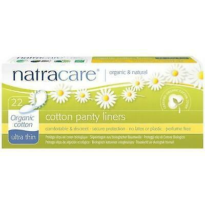 NATRACARE Organic Panty Liners - Ultra Thin - 22 Liners