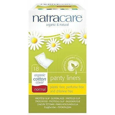 NATRACARE Organic Panty Liners Normal - Individually Wrapped 18 pcs