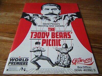 1988 - Theatre  Programme  - The Teddy Bears Picnic - Chester Gateway Premiere