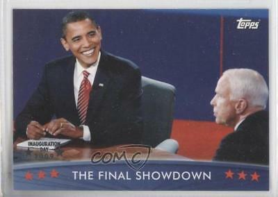 2008 Topps President Obama Collector Trading Cards #51 The Final Showdown 0m1