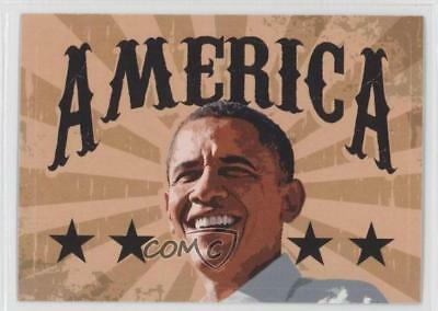 2008 Topps President Obama Collector Trading Cards Stickers #10 America Card 0m1