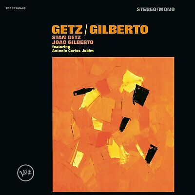 Stan Getz & Joao Gilberto Verve remastered 180gm vinyl LP +download NEW/SEALED