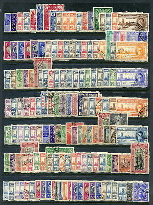 Omnibus Issues 1945-47 Victory complete set of 164 stamps very fine used.