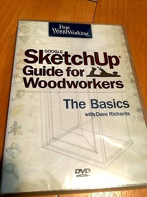 Google SketchUp for Woodworkers The Basics by David Richards