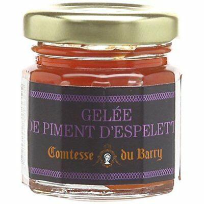 Comtesse du Barry Espelette Chili Pepper Jelly 50 g (Pack of 2)